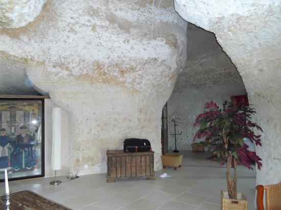 Chateau de Chissay : chambre troglodyte