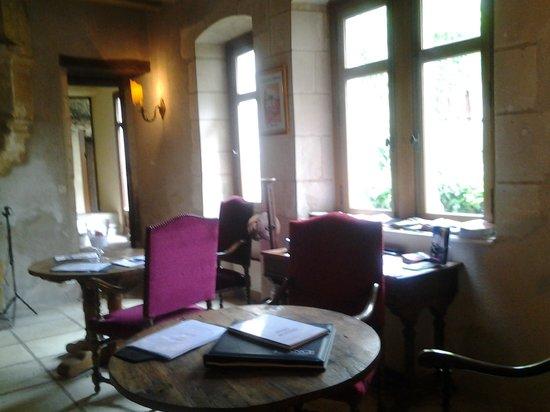 Chateau de Chissay : salle a manger