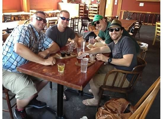 Pubs of Portland Private Tours: Marc and the boys