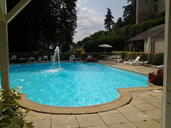 Piscine photo de chateau de chissay chissay en touraine for Piscine 3 chateaux