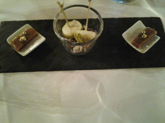 Chateau de Chissay : dessert
