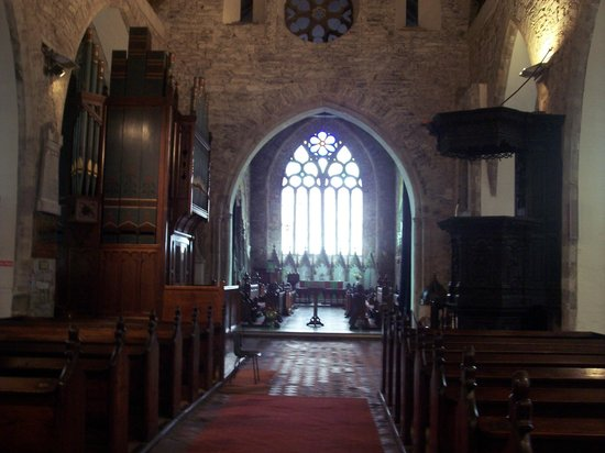 Youghal, Ireland: St. Mary's interior