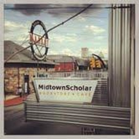 Midtown Scholar Bookstore: A great view of Harrisburg!