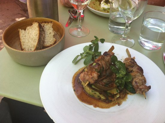 Le Bouchon Provencal : Lamb on roasted figs