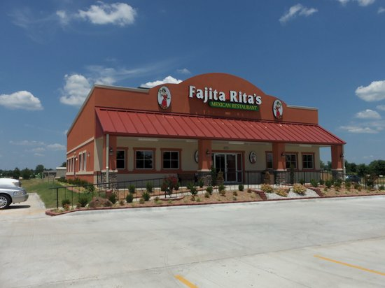 Fort Gibson, OK: Fajita Rita's Building