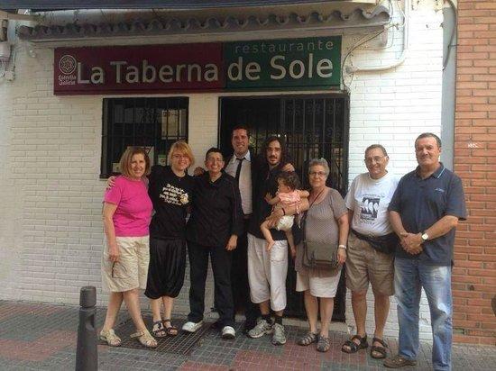 Restaurante La Taberna de Sole: La Familia Vila Sánchez