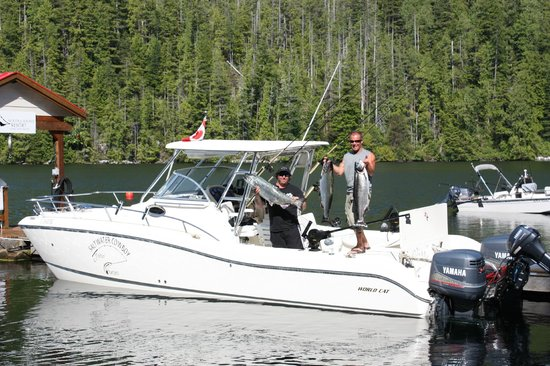 Moutcha Bay Resort: Fishing with the Saltwater Cowboy