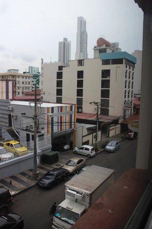 Hotel Benidorm: View onto Peru Street