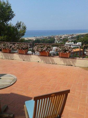 Gran Hotel Rey Don Jaime: terraza de la suite nucial