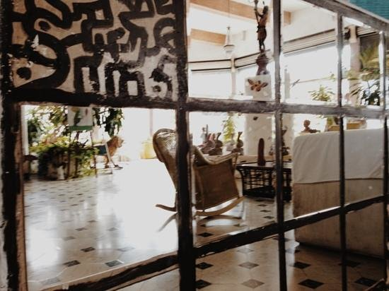 Hotel Trinidad Galeria : recepción
