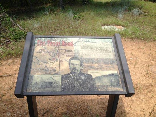Honey Springs Battlefield: The Texas Road