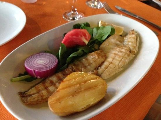 Selam Restaurant: grilled sea bass