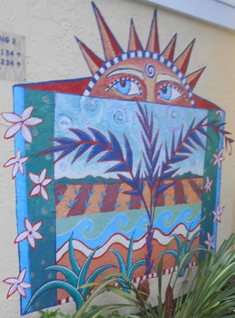 Wild Palms Hotel - a Joie de Vivre Hotel: One of the many murals