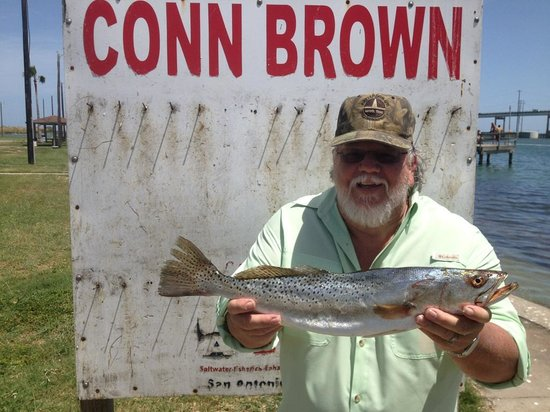 Beachgate CondoSuites and Hotel : Rainbow Trout caught in Rockport