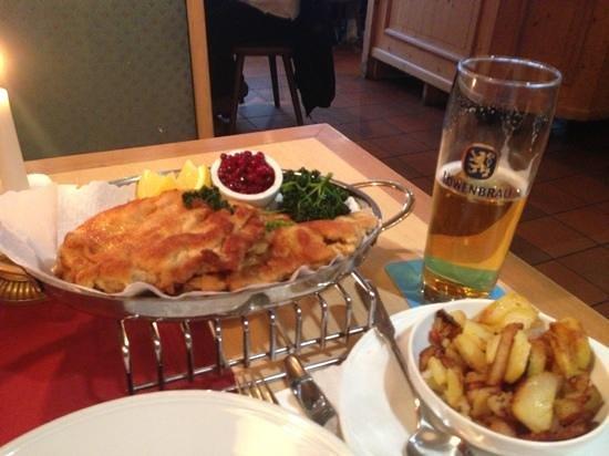 Zur Post Hotel: dinner ..huge !!