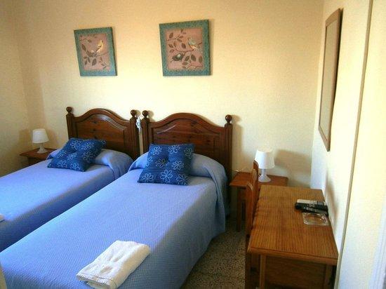 Hotel Sanvi : Habitación doble dos camas