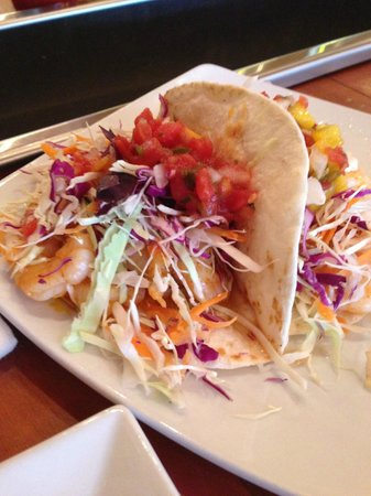 Tamara's Tapas Bar: Shrimp tacos
