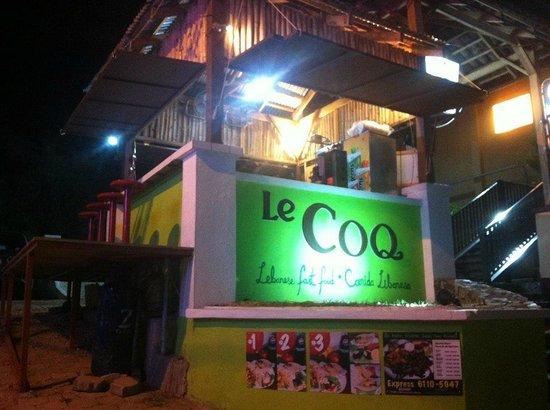Le COQ Lebanese Health Food : Late Night at Le COQ