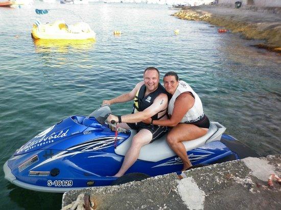 WaterWorld Malta: Jet Ski fun