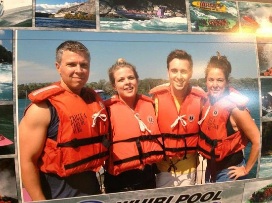 Whirlpool Jet Boat Tours: Our photo of the photo.