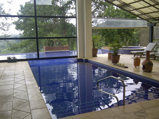 San Gregorio Hotel and Spa: Area de Jacuzzi y piscina