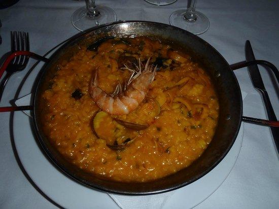 La Deliciosa: Paella de pescado