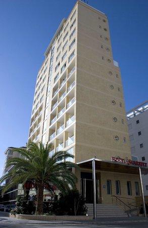 Biarritz Hotel: Fachada