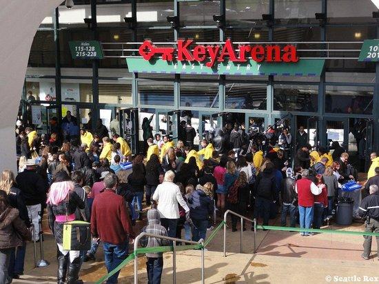 KeyArena: Key Arena Entrance