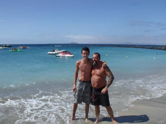 IBEROSTAR Lanzarote Park: Jet skiing playa blanca :D