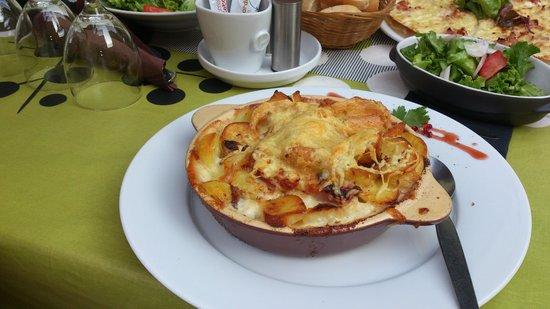 Aux Armes de Colmar : Kartoffeltopf