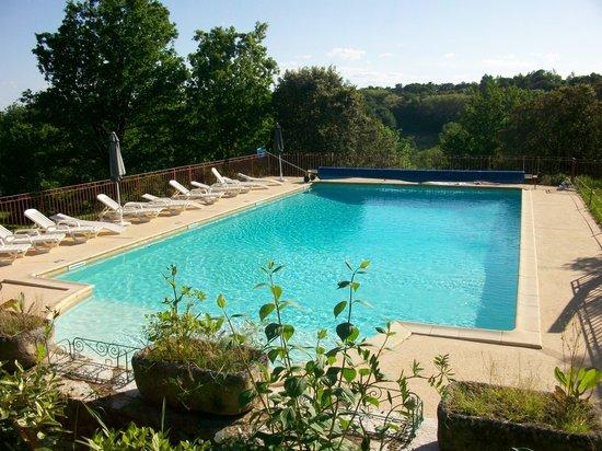 Résidence Au Pré de L'Arbre : Pool area