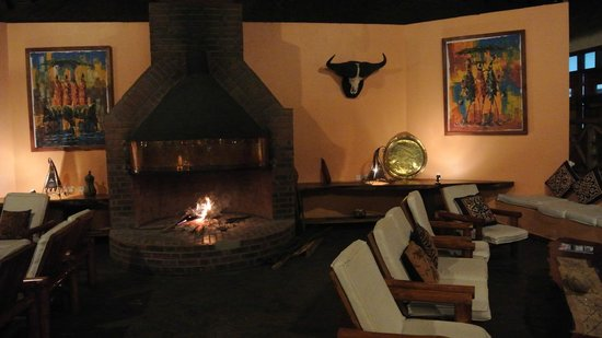 Arumeru River Lodge: Relaxing Area