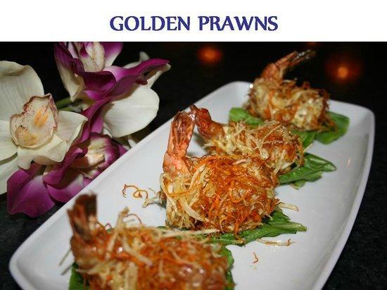 Kings Garden Chinese Restaurant: Golden prawns