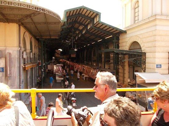 City Sightseeing Athens & Piraeus: market