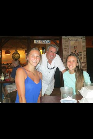 Folly Beach Crab Shack: The owner is a great host!