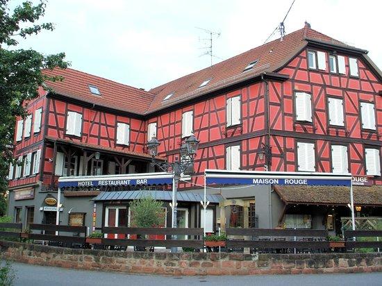 Hotel Restaurant Maison Rouge: Maison Rouge