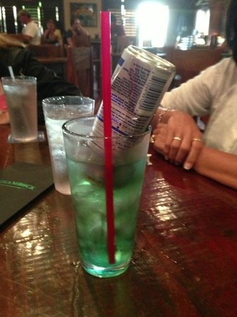 The Shamrock Irish Pub & Eatery: Irish Trash Can