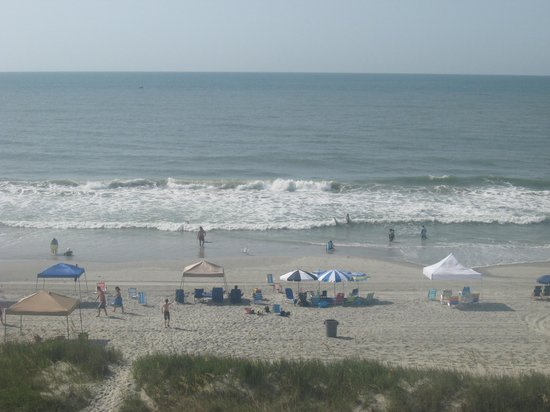 Windy Shores II: view from our balcony