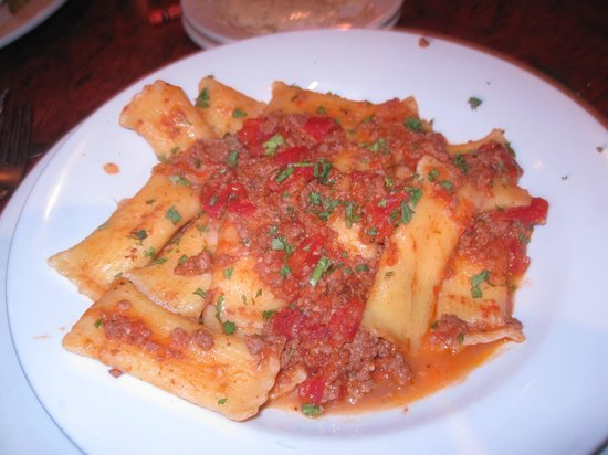 Center Street Grille: stuffed pasta-avoid