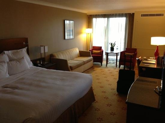 London Marriott Hotel Regents Park: Spacious room