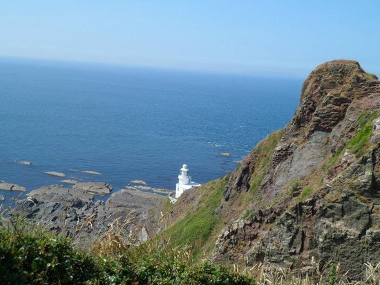 Copps Castle Bed and Breakfast: Hartland Point