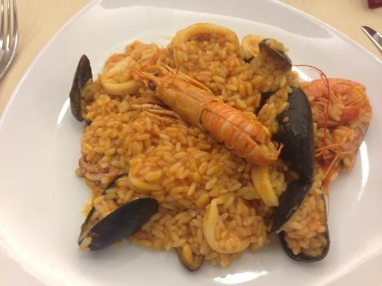 L'Isola del Gusto: risotto seafood
