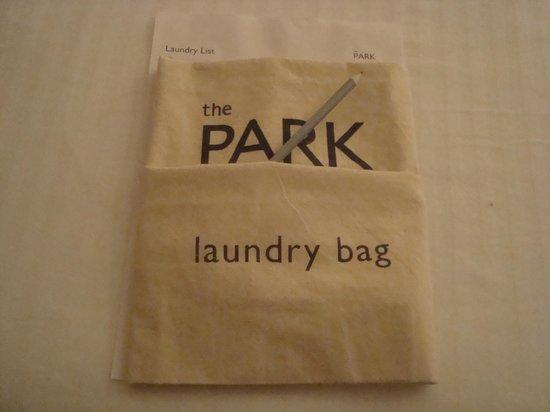The Park Visakhapatnam: laundry bag