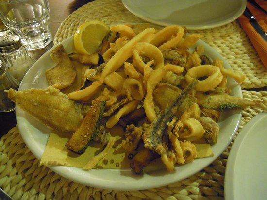 OSTERIA DELLE GRAZIE: Fritturina di Pesce