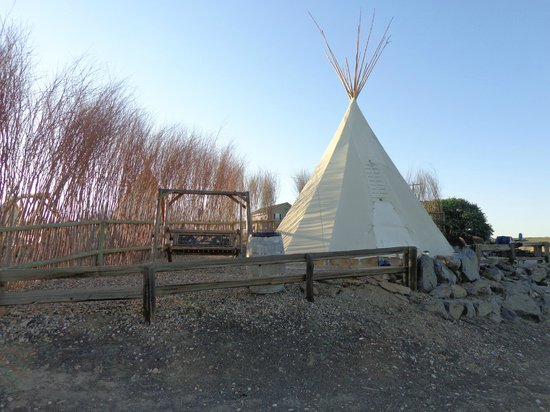 Cherry Wood Bed Breakfast and Barn: Our teepee.