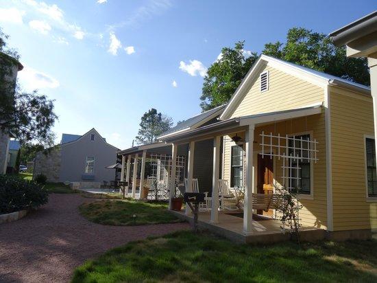 Fredericksburg Herb Farm - Sunday Haus Cottages: cottages