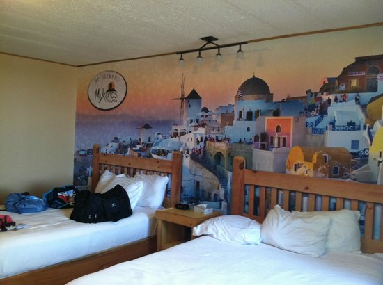 Mt. Olympus Resort: Room