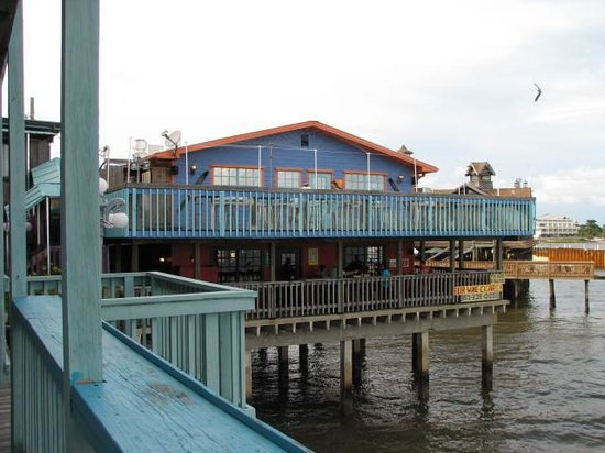 "Cedar Key Harbour Master Suites: View from the ""Forget Me  Not"" Balcony"