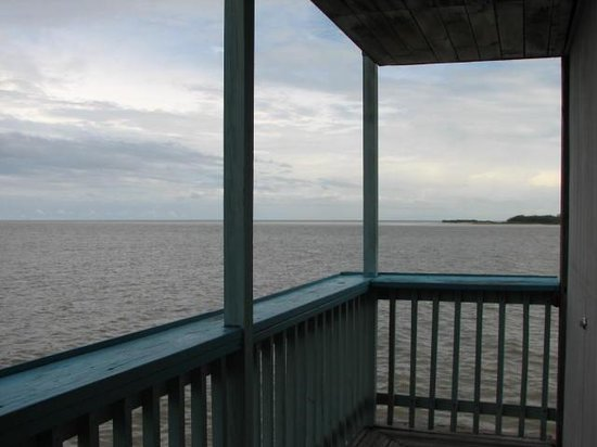 "Cedar Key Harbour Master Suites: View From ""Forget Me Not"" Balcony"