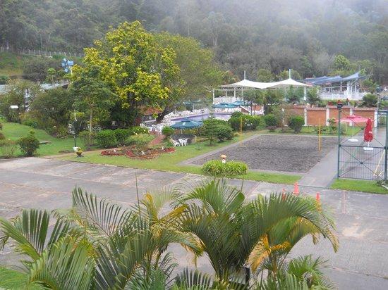 Choachí, Colombia: desde el balcón